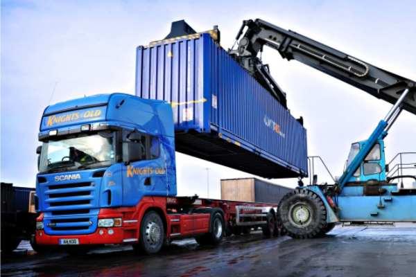 Аренда контейнеровоза