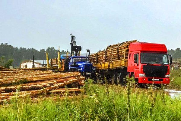 Услуги лесовоза в Новосибирске