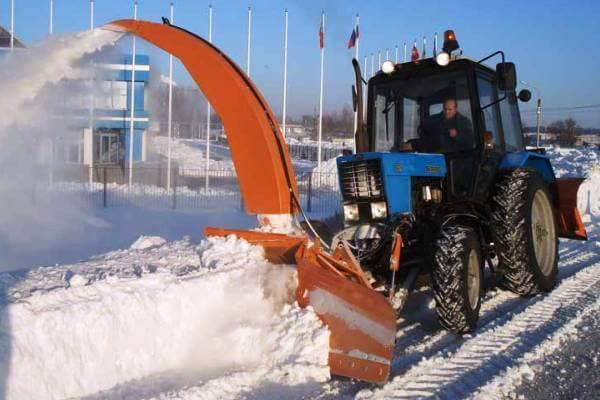 аренда снегоротора в Новосибирске